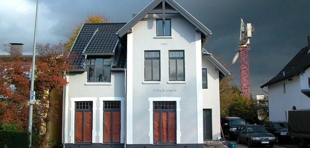Villa Krempin fertig
